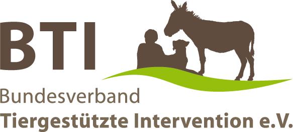 Logo Bundesverband Tiergestützte Intervention e.V. (BTI)